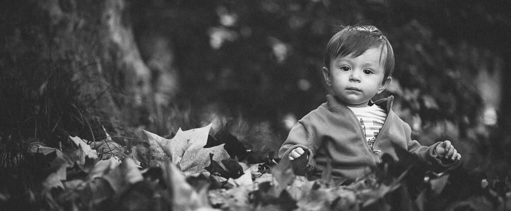 sesión de fotos infantiles